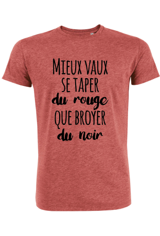 tee shirt homme bio col rond