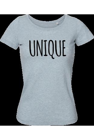 Tee shirt femme bio à col danseuse