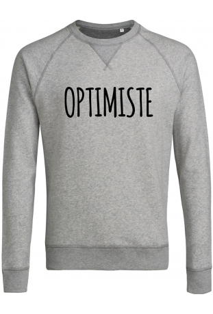 Sweat shirt homme bio